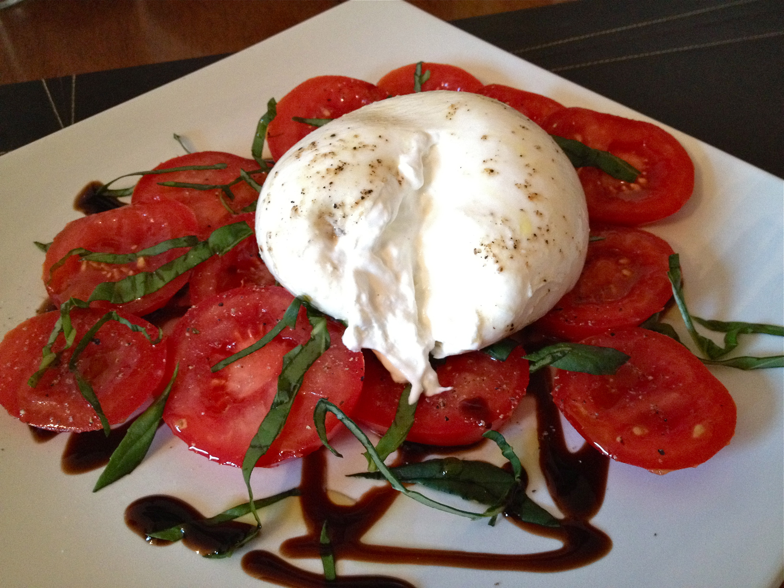 Caprese Salad With Burrata